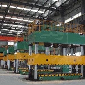 ماشینهای پرس هیدرولیک با فریم ستونی و ظرفیت 20000 تن