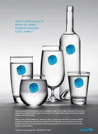 کمپین تبلیغاتی Tap Water از یونیسف و اجرای کمپانی دراگو 5