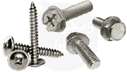 پیچ واشردار یا پیچ فلنج که به آن Flange Screw گفته میشود.