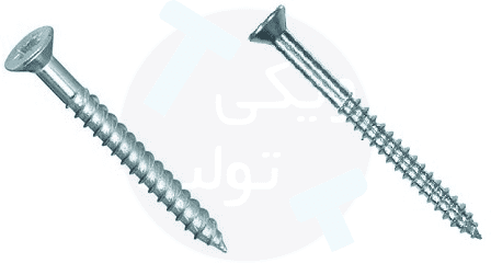 پیچ چوب یا Wood Screw