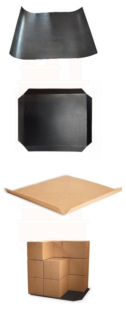 انواع صفحات برای قرار گرفتن زیر مواد و تشکیل بار واحد (Unit load)